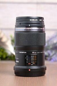 OLYMPUS M.Zuiko Digital ED 60mm F2.8 Macro - For Micro Four Thirds Mount (M43)