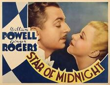 Star of Midnight - 1935 - William Powell Ginger Rogers Vintage Mystery Film DVD