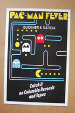 Pac Man Fever advertisement promotional poster Columbia Records