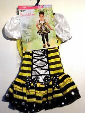 CHILD GIRL TODDLER M 8-10 BEE DRESS UP TRICK OR TREAT HALLOWEEN COSTUME