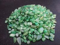 7-12mm  AVENTURINE, Green, mini tumbled 1/2 lb bulk stones quartz  Wholesale