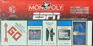 Hasbro 2006 Monopoly ESPN Ultimate Sports Fan Edition New Sealed Board Game