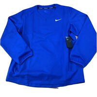 Nike Men's Long Sleeve Baseball Pullover Jacket Size large New NWT F202