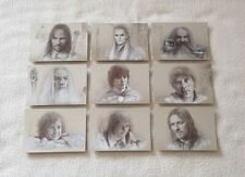 Topps Lord of the Rings Masterpieces Series 1 Silver Foil Trading Card Set