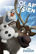 Disney Frozen Movie Olaf and Sven 24x36