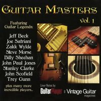 GUITAR MASTERS VOL.1   CD NEU