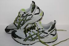 ASICS Gel Enduro 6 Running Shoes, #T0F7N, Light Grey/Black/Lime, Womens US 9