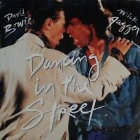 """DAVID BOWIE / MICK JAGGER~DANCING IN THE STREET~EA 204~ UK 7"""" SINGLE~EXCELLENT"""