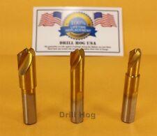 USA Drill Hog 3 Pc Cobalt Spot Weld Drill Bits Titanium Cutter Lifetime Warranty