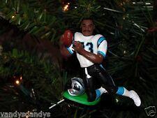 mark CARRIER carolina PANTHERS football NFL xmas ornament HOLIDAY vtg JERSEY 83
