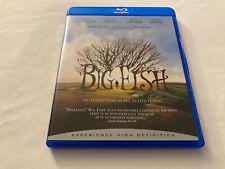 Big Fish (Blu-ray, 2003) Tim Burton, Ewan McGregor, Danny DeVito, Jessica Lange
