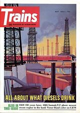 Trains Magazine May 1973 All About What Diesels Drink