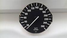 BMW E34 5 SERIES SPEEDOMETER INSTRUMENT CLUSTER  260km/h 437.221/001/002