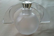 Lalique Crystal Perfume Bottle Eclipse -made for Lalique Society of America 1994