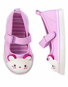 NWT GYMBOREE WOODLAND WONDER MOUSE MARY JANE SNEAKERS SHOES toddler 4