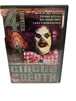 Circus of Death - 4 Movie Set (DVD, 2002)