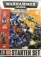 Warhammer 40K Battle for Vedros Starter Set NIB Sealed. Orks vs. Space Marines