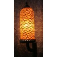 Wall Hanging Handcrafted Bamboo Lamp