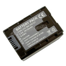New Battery for JVC BN-VG121U BN-VG108U BN-VG107U BN-VG114U BN-VG138E GZ-HM655