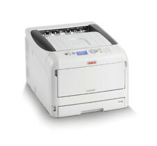 OKI PRO8432WT - White Toner Printer - Supplied with 3 white Toner Cartridges.