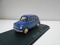 FIAT 600 1957 CLASICOS POPULARES RBA IXO (SEAT) 1/43