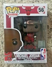 Funko Pop! Basketball Michael Jordan Rookie Red Jersey Exclusive #56