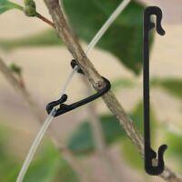 Garden Tool 100pcs Plastic Plant Clips Tomato Grafting Clips Vines Vegetable Flo
