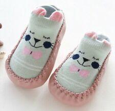 1 Pair Newborn Toddler Knee High Sock Baby Boy Girl Socks Anti Slip Cute  M/&C