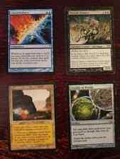 Magic Card Collection 4-Foils, 45-Rare + around 120 silver cards.