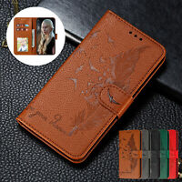 For Samsung Galaxy S20 FE Note20 Ultra Stand Flip Leather Card Wallet Case Cover