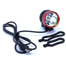 T6 LED Bicycle Headlight WaterproofBike Light Lamp Cycling USB Bike BicycleFront