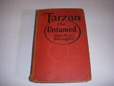 Vintage TARZAN THE UNTAMED by EDGAR RICE BURROUGHS, Grossett & Dunlap, 1920, HB!