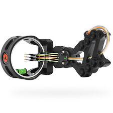 New Apex Gear Accu Strike XS Archery Bow Sight Black 5 Pin (.019) Model# AG1615