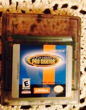 Tony Hawks Pro Skater Nintendo Game Pak For Game Boy Color System Toy. 1999 2000