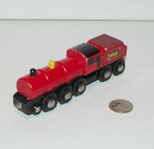 BRIO London Midland Scottish Red Train 33411 - works w Thomas Wooden Railway