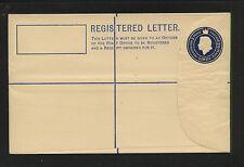 Gambia  2  1/2  registered    postal envelope unused          KEL1224