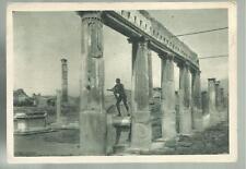 cartolina di pompei il tempio di  apollo