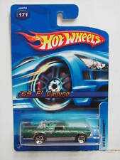 HOT WHEELS  2005  '69 EL CAMINO #171 GREEN