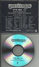 UNWRITTEN LAW Up All Night TST PRESS RADIO PROMO DJ CD Single 2001 w/ TOUR DATES