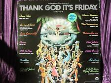 THANK GOD IT'S FRIDAY SOUNDTRACK  2 RECORD SET LP