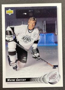 1992-93 Upper Deck Hockey - #25 Wayne Gretzky - Los Angeles Kings