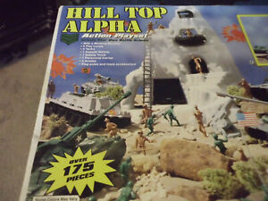 Hill Top Alpha (Spin off of Marx Guns of Navarone) New in Box 175+ Pc