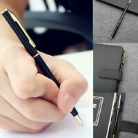 Stainless Steel Ballpoint Pen Office Ball Point Writing Stationery Pen unis K1R3