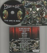 Escape The Fate – This War Is Ours CD Album 2008