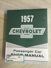 "1957 CHEVY  CHEVROLET Passenger Car SHOP MANUAL   ""New In Shrink Wrap"""