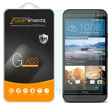 2X Supershieldz Tempered Glass Screen Protector Saver Shield For HTC One M9