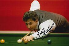 Joe Johnson mano firmado 12X8 Snooker Foto prueba 4.
