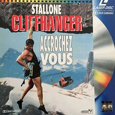 LASERDISC - CLIFFHANGER -  WS VF PAL-Sylvester Stallone, John Lithgow,