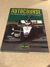 AUTOCOURSE 1999-2000 Worlds Leading Grand Price Annual F1 Formula 1 One