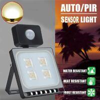 20W LED PIR Motion Sensor Flood Light Waterproof Lights Outdoor Security Lamp